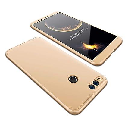 JMGoodstore Funda Xiaomi Redmi 6,Carcasa Xiaomi Redmi 6, Funda 360 Grados Integral para Ambas Caras+Cristal Templado,[360°] 3 in 1 Slim Fit Dactilares ...