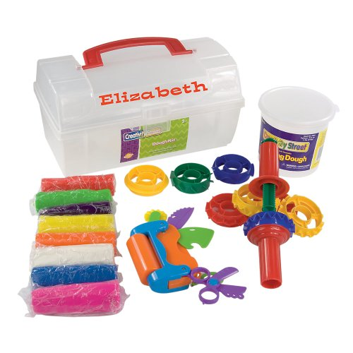 Kids Modeling Dough Playset with Tools by One Step Ahead