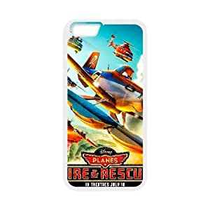 Generic for iPhone 6 Plus 5.5 Inch Cell Phone Case White Planes Custom HLFFKDOFS2322