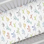 Carousel-Designs-Watercolor-Dinosaurs-Crib-Sheet-Organic-100-Cotton-Fitted-Crib-Sheet-Made-in-The-USA