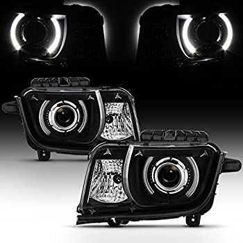 Amazon Com Sppc Black Projector Headlights U Bar Assembly