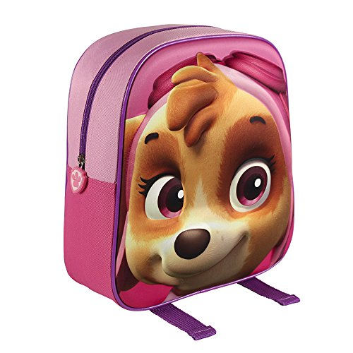 Paw Patrol 2100001561 31 cm 3D Effect Skye Junior Backpack