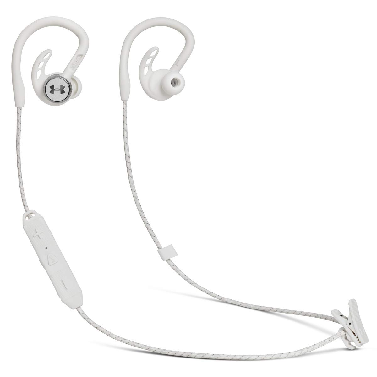 JBL - Under Armour Pivot, Wirless in-Ear Headphone Sport Headphone with Around The Ear Fit-White