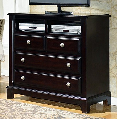 Dark Brown Media Chest - Signature Design by Ashley Furniture