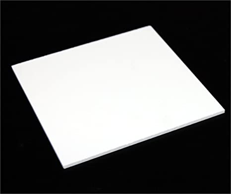 Delite Tm Acrylic Sheet 3 Mm 24 X 24 Inch White Amazon In Electronics