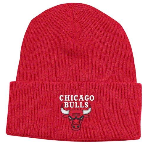 adidas Chicago Bulls Red Basic Logo Cuffed Knit ()
