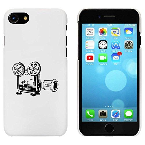 Blanc 'Caméra de Film Classique' étui / housse pour iPhone 7 (MC00079330)