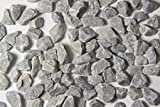Walttools Terrazzo Grade Decorative Aggregate Stones for Countertops, Terrazzo Flooring, Outdoor Gardens, etc. (5, Gray Marble)