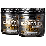 Platinum Creatine Monohydrate 80 Servings (2 Pack) HPLC Tested & Micronized Platinum 100% Pure Micronized Creatine