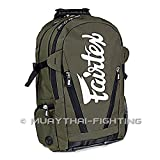 Fairtex Muay Thai Kick Boxing K1 Equipment Gym Bag Jungle BackPack Bag 8