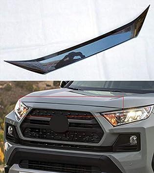 ABS Chrome Car Rear Trunk Upper Trim Strip Trunk Lid Cover Trunk Upper Chrome Molding for Toyota RAV4 Adventure 2019-2020