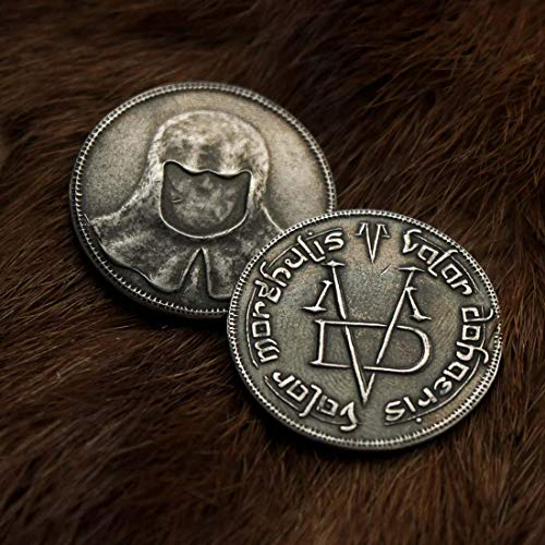 Game of Thrones: Fully Licensed Iron Coin of The Faceless Man by Shire Post -