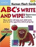 ABCs Uppercase Write & Wipe Flash Cards (Kumon Flash Cards)