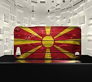 Funda Carcasa para iPod Touch 5 Bandera MACEDONIA 02