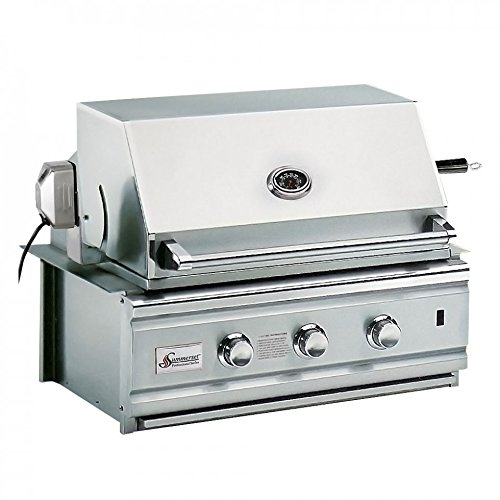 """SS27PRO 30"""" Deluxe Stainless Steel Built-in Barbecue Grills - Natural Gas Summerset"""