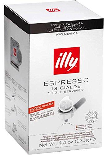 Illy Caffè Espresso DARK ROAST ESE Pods / - Illy Mocha Coffee