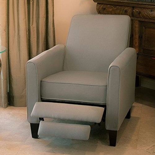Christopher Home Light Fabric Club Chair