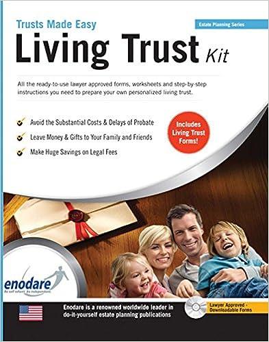 Living trust kit enodare 9781906144661 amazon books living trust kit papcdr edition solutioingenieria Gallery