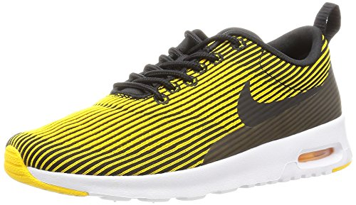Black Yellow Sneakers (Nike Women's Wmns Air Max Thea KJCRD, BLACK/BLACK-VARSITY MAIZE-WHITE, 6 US)
