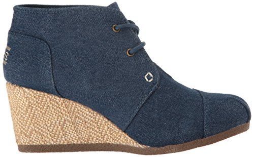 Skechers BOBS Damen High Notes Wedge Boot Denim