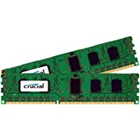 Crucial 4GB Kit (2GBx2) DDR3-1600 MT/s (PC3-12800) Non-ECC UDIMM 240-Pin Desktop Memory CT2KIT25664BA160B/CT2CP25664BA160B