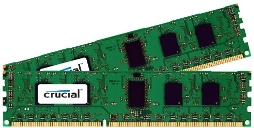 Crucial 16GB Kit (8GBx2) DDR3 1333 MT/s (PC3-10600) CL9 240-Pin Unbuffered UDIMM Desktop Memory CT2CP102464BA1339 by Crucial