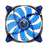 Cougar D14 LED Fan Cooling - Hydraulic Bearing- 1000rpm- 3pin-  Blue