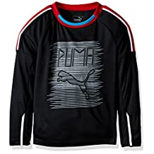 PUMA boys Fast Lane Long Sleeve