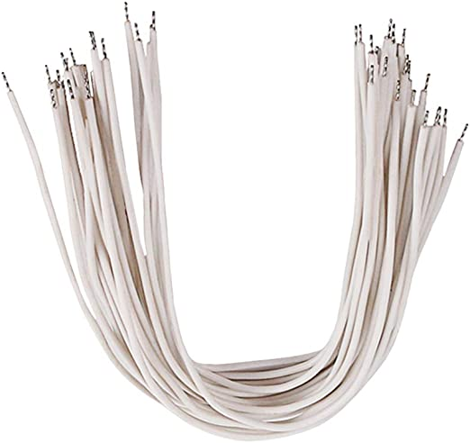 dezirZJjx 10 Piezas de Alambre de Cobre, Cable de Circuito de ...
