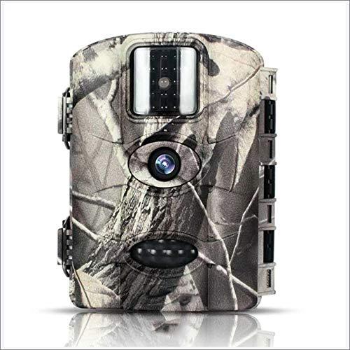 Cámara de seguimiento de vida silvestre, cámara de 14MP 1080P HD animal con IR LED hasta 65 pies IP65 impermeable cámara...