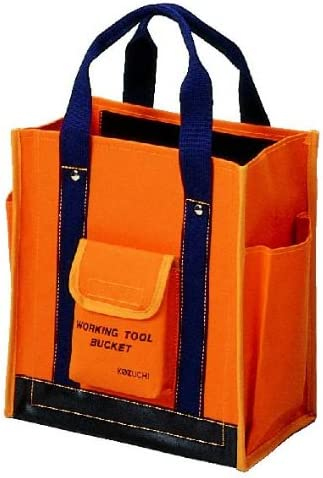 コヅチ(KOZUCHI) 6号防水帆布 ワーキングツールバック 小 オレンジ TS-12 BOR