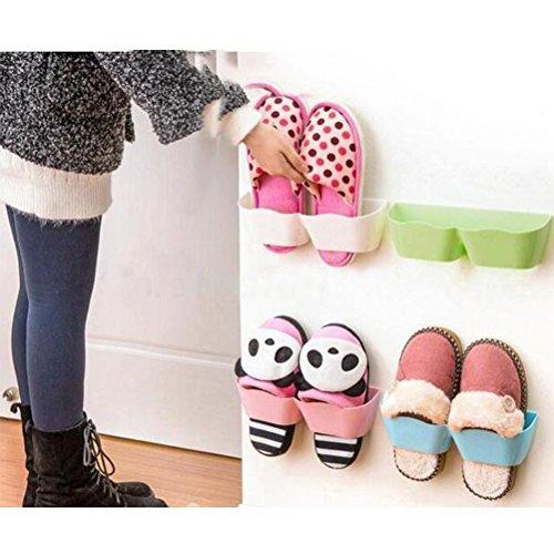 Sticky Shoe Storage Organizer