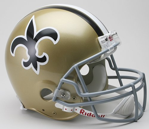New Orleans Saints 1967-75 Throwback Pro Line Helmet by Riddell