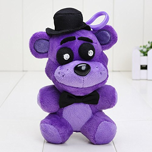 papeo FNAF Plushies 5 inch Small Soft Plush Keychain Figure Toy Mini Stuffed Toys Doll Gift Christmas Halloween Birthday Gifts Cute Collection Collectible Fazbear for Kids Adults