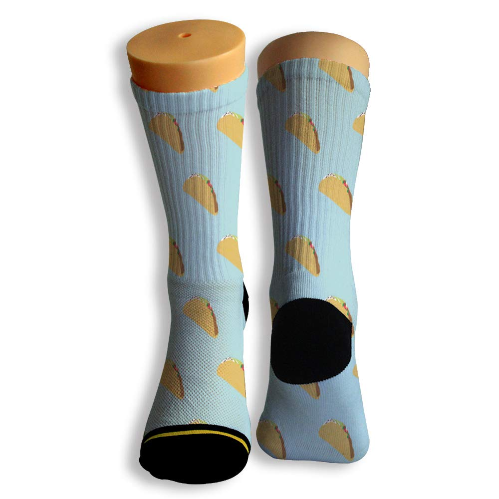 Basketball Soccer Baseball Socks by Potooy Sweet Cake We Love 3D Print Cushion Athletic Crew Socks for Men Women