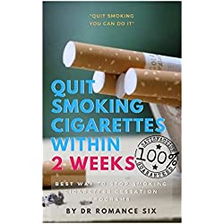 Quit smoking cigarettes within 2 weeks: Best way to stop smoking cigarettes cessation programs.
