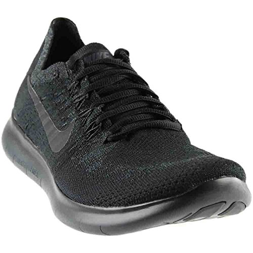 Image of the Womens Nike Free RN Flyknit 2017 Running Shoes Black 880844-010 Size 9