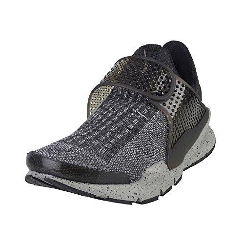 Nike Herren Sock Dart SE Premium Laufschuh Grau-Schwarz-Graphit