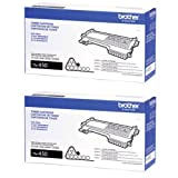 Genuine Brother TN-450 (TN450) High Yield Black Toner Cartridge 2-Pack