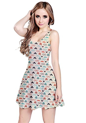 CowCow - Vestido - para mujer Blue Hipster