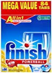 Finish All In 1 Lemon Sparkle 84 Dish...