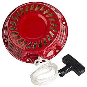OuyFilters - Arrancador de Arranque para Honda Gx120 Gx160 Gx200 Generador 4/5.5/6.5 HP Motor Piezas