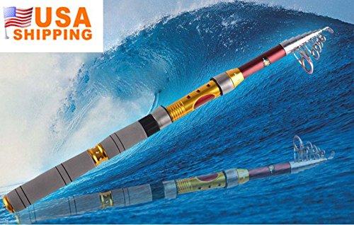 最新入荷 EverTrust (TM) 3 M伸縮釣りロッドカーボン&合金Spinningポータブル釣りロッドCarp釣りVara de pesca pesca de 3 de Carbono B00ZOPHDRE, milimili:6b426d5e --- a0267596.xsph.ru