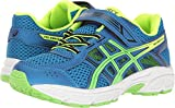 Best  - ASICS Unisex-Kids Pre-Contend 4 PS Running-Shoes, Directoire Blue/Green/Safety Review