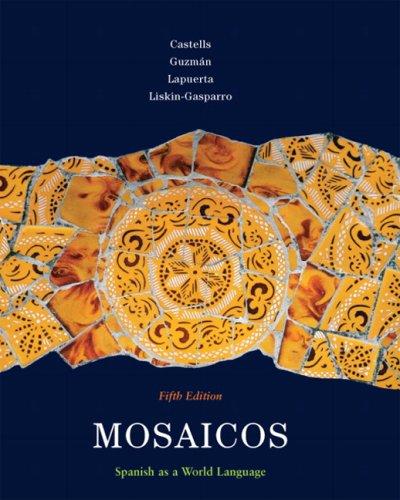 Mosaicos, Volume 1 (5th Edition)