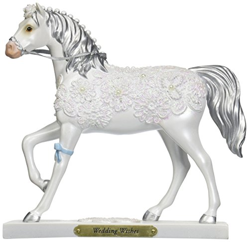 """ENESCO Trail of Painted Ponies Wedding Wishes Figurine, 7"""""""