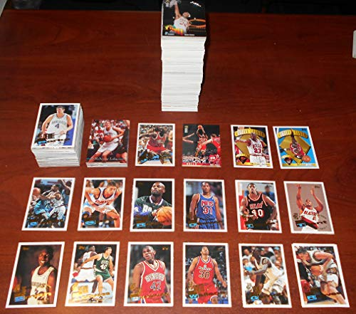 Kevin Garnett Draft - 1995 1996 Basketball Card Lot / Set / Collection of 800+ Different Cards Composed of Topps Collector's Choice Classic Draft Complete Sets and Kevin Garnett Jerry Stackhouse and Michael Finley Rookies
