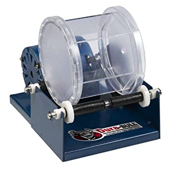 "Dura-Bull 202210 Single Barrel Rotary Tumbler, 6-1/4"" Width x 7-1/2"" Height x 8-1/2"" Depth, 110-120V"