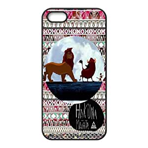 High quality Hakuna Matata-Lion King quotes series protective case cover For Apple Iphone 5 5S CasesLHSB9694338