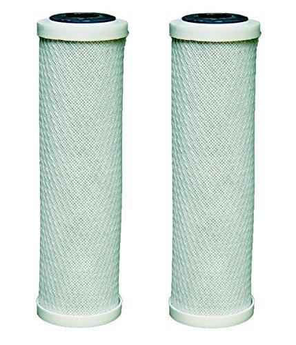 Cartucce filtranti acqua 2 x carbonio misura tutti 10 'alloggiamenti per ro osmosi inversa Invena